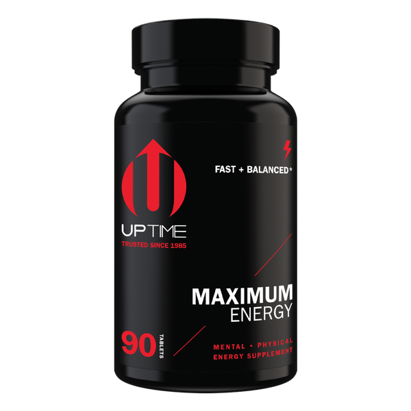 Maximum Energy Caffeine Tablets - 90 Ct. Bottle