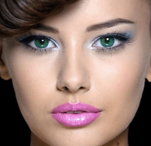 green contact lenses for dark brown eyes