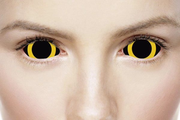 how to put full eye contacts in