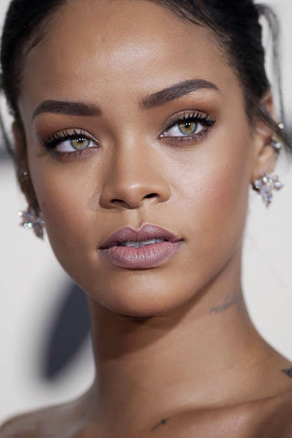 get Rihanna coloured eyes. coloured contact lenses like Rihanna