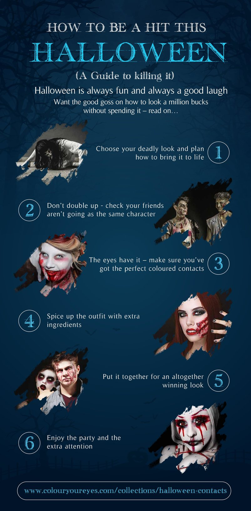 How to be a hit this halloween