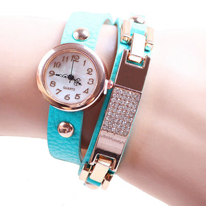 Sky Blue 2 Strap Watch - ColourYourEyes.com