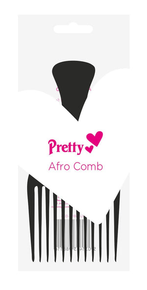 Pretty Afro Comb (Black) - ColourYourEyes.com