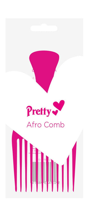 Pretty Afro Comb (Pink) - ColourYourEyes.com