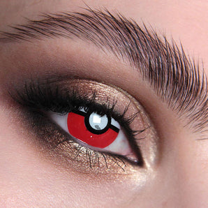 Pokemon Pokeball Blind Colour Contact Lenses