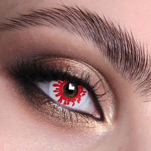 Blood Splat Colour Contact Lenses