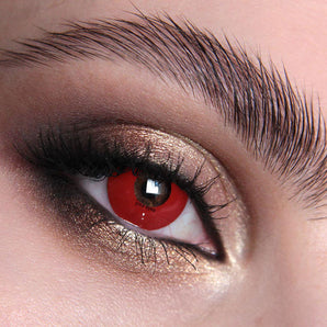 Bloody Red Contact Lenses Colour Contact Lenses