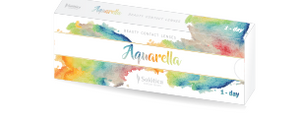 Solotica Aquarella - Sea Green (5 Daily Pairs) - ColourYourEyes.com