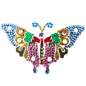 Rainbow Butterfly RYB - ColourYourEyes.com