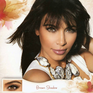 Bella Diamond - Brown Shadow (3 Monthly) - ColourYourEyes.com