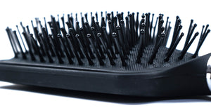Black Paddle Hair Brush - ColourYourEyes.com