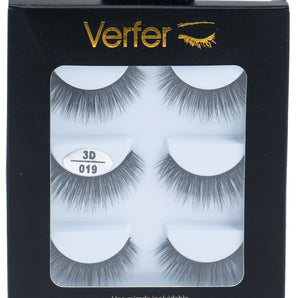 3D Natural False eyelashes - 019