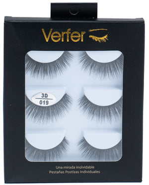 3D Natural False eyelashes - 019 - ColourYourEyes.com