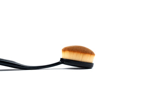 Pro Oval Make up Brushes - Medium - ColourYourEyes.com