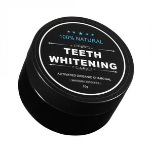 100% Natural Teeth Whitening Activated Organic Charcoal - ColourYourEyes.com