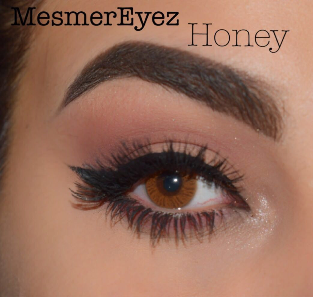 Mesmereyez coloured contact lenses honey geenschuldenfo Choice Image