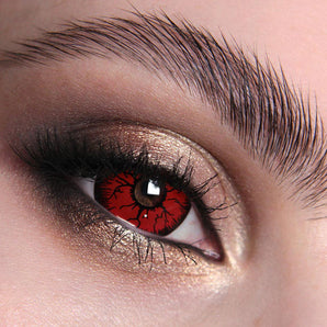 Red Rage Mini Sclera 17mm Colour Contact Lenses
