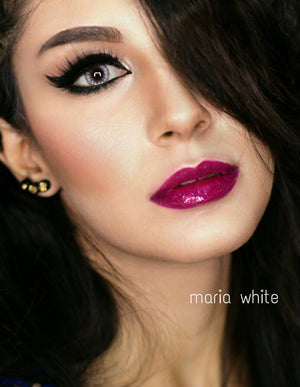Maria White Contact Lenses - ColourYourEyes.com