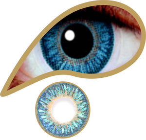 Diamond Blue - ColourYourEyes.com
