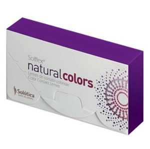 Solotica Solflex Natural Colors - Ocre (Monthly) - ColourYourEyes.com