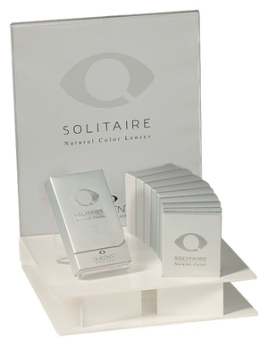 Soleko Solitaire - Acqua (3 Monthly) - ColourYourEyes.com