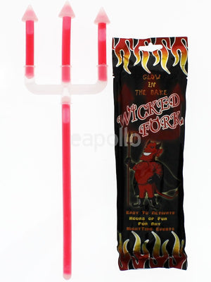 Glow in the dark Halloween Fork - ColourYourEyes.com