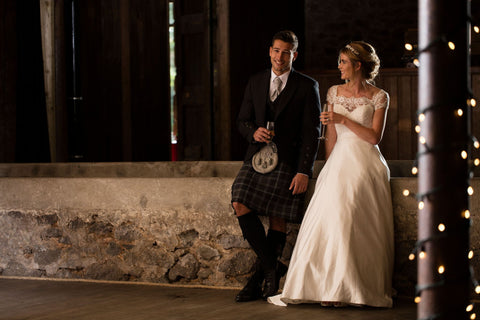 Kilt outfit for groom