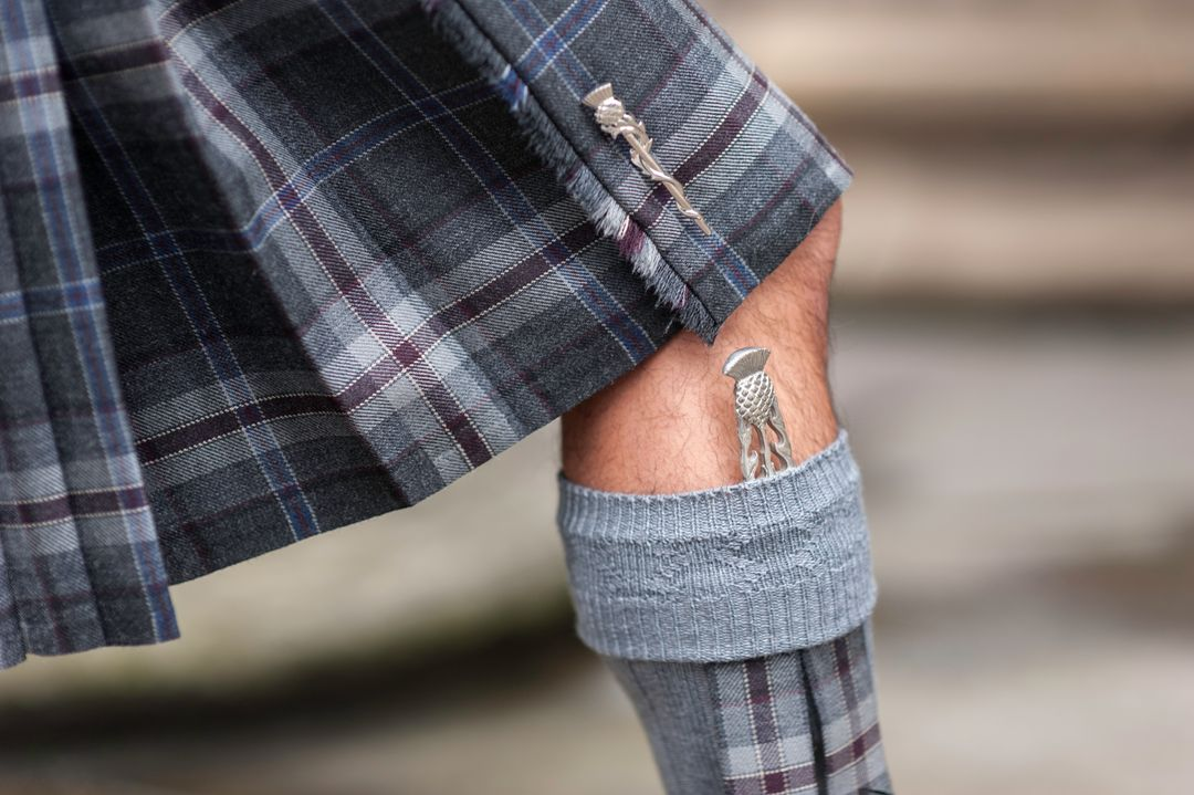 What to wear under a kilt - MacGregor and MacDuff