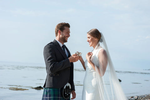 Quaich for bride and groom