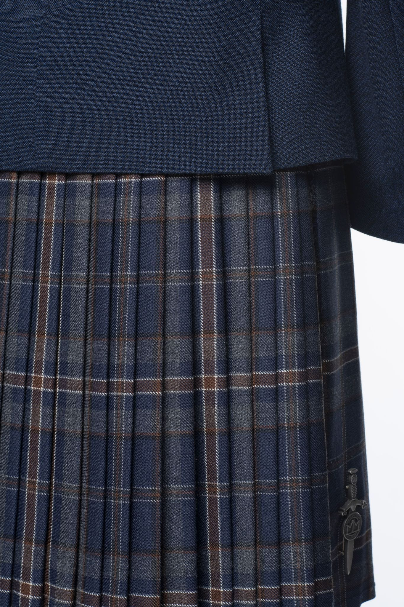MacGregor MacDuff Made to Measure Arran Mist Kilt