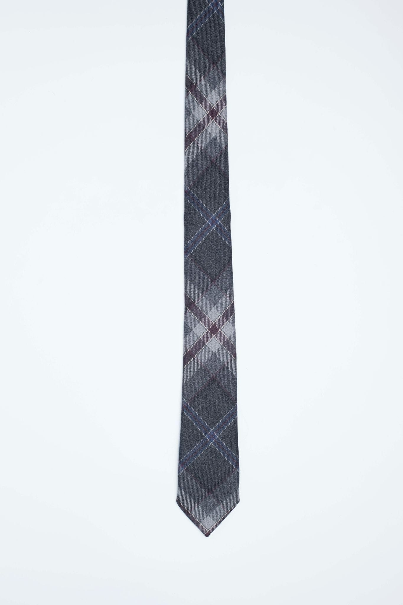 MacGregor and MacDuff Exclusive Mist Tartan Tie - MacGregor and MacDuff