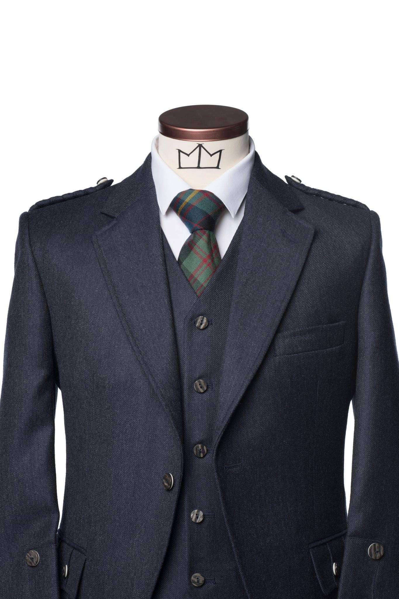 Mens Tartan Trousers Outfit - MacGregor and MacDuff