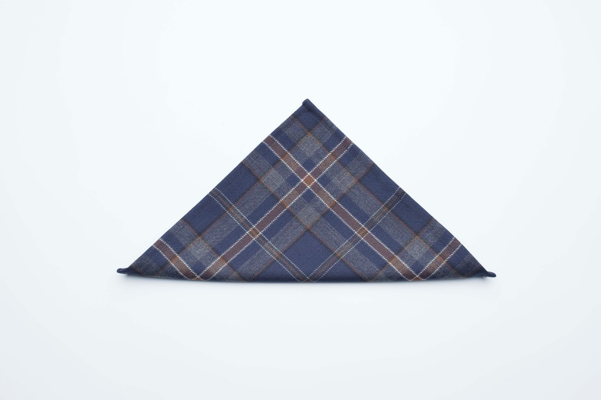 macgregorandmacduff Pocket Square Exclusive Mist Range Tartan Pocket Squares