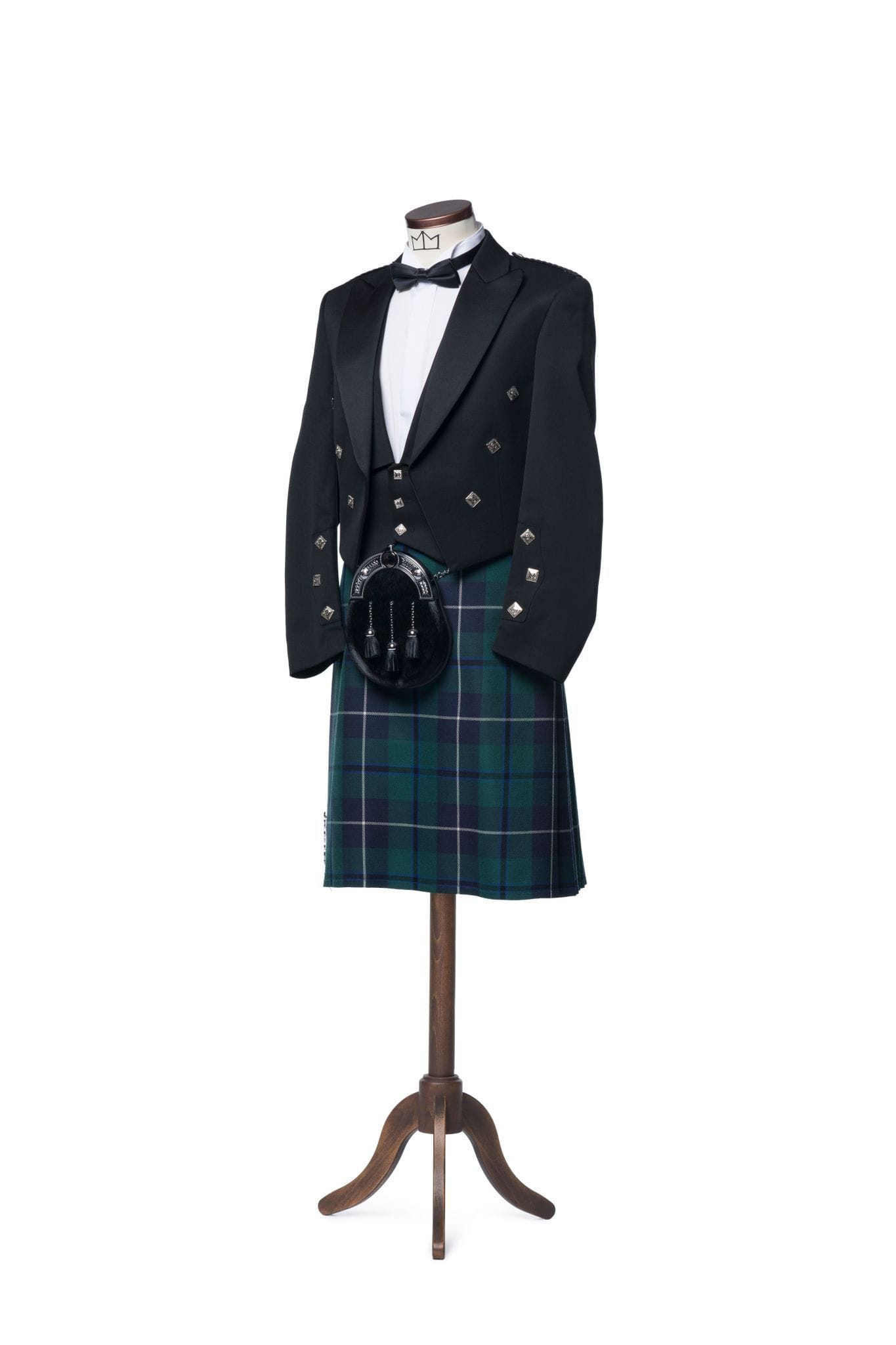 macgregorandmacduff Kilt Outfit Prince Charlie Jacket & Vest Package - Choose Your Tartan