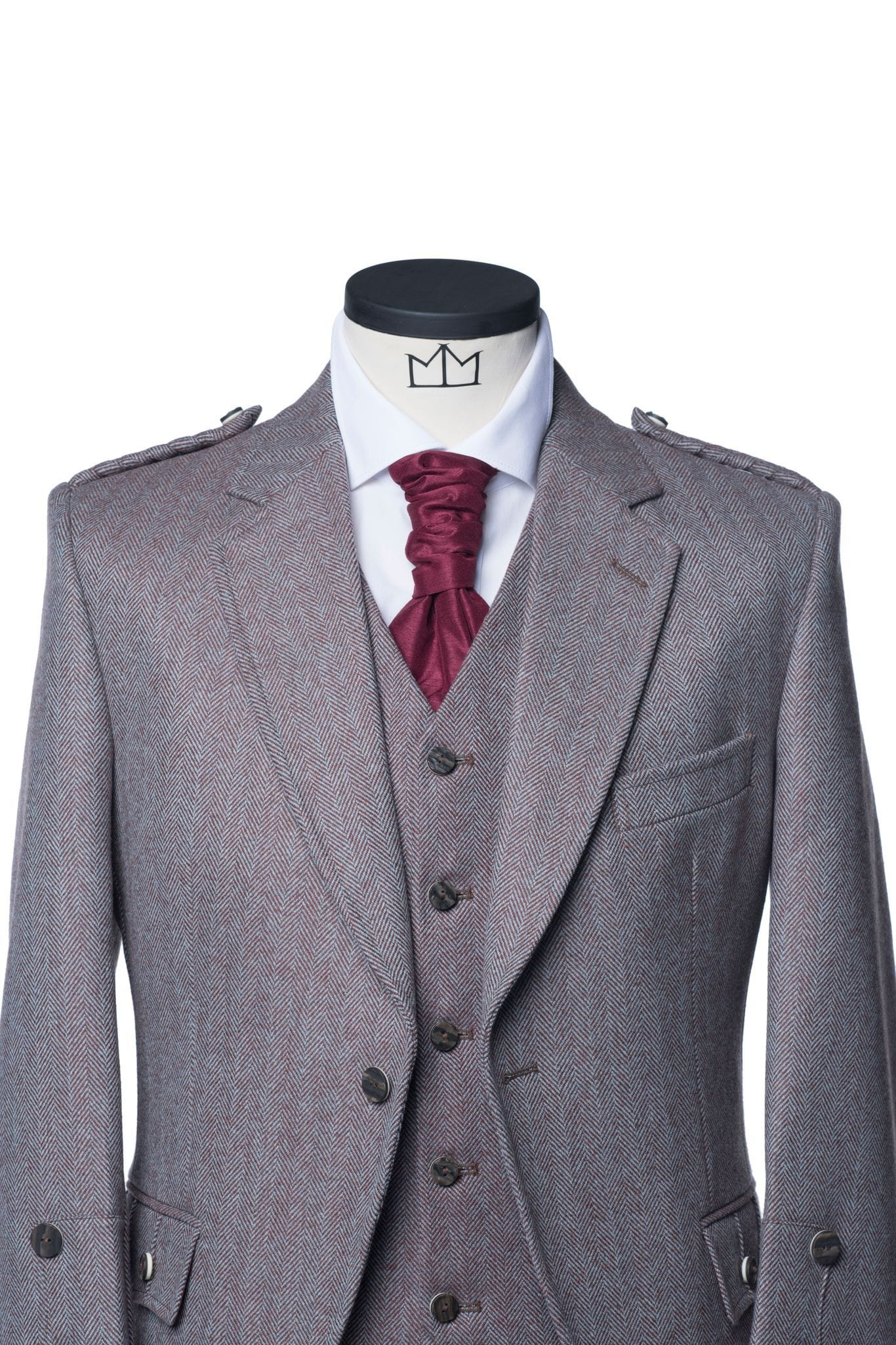 Mens Tartan Trews Outfit - MacGregor and MacDuff