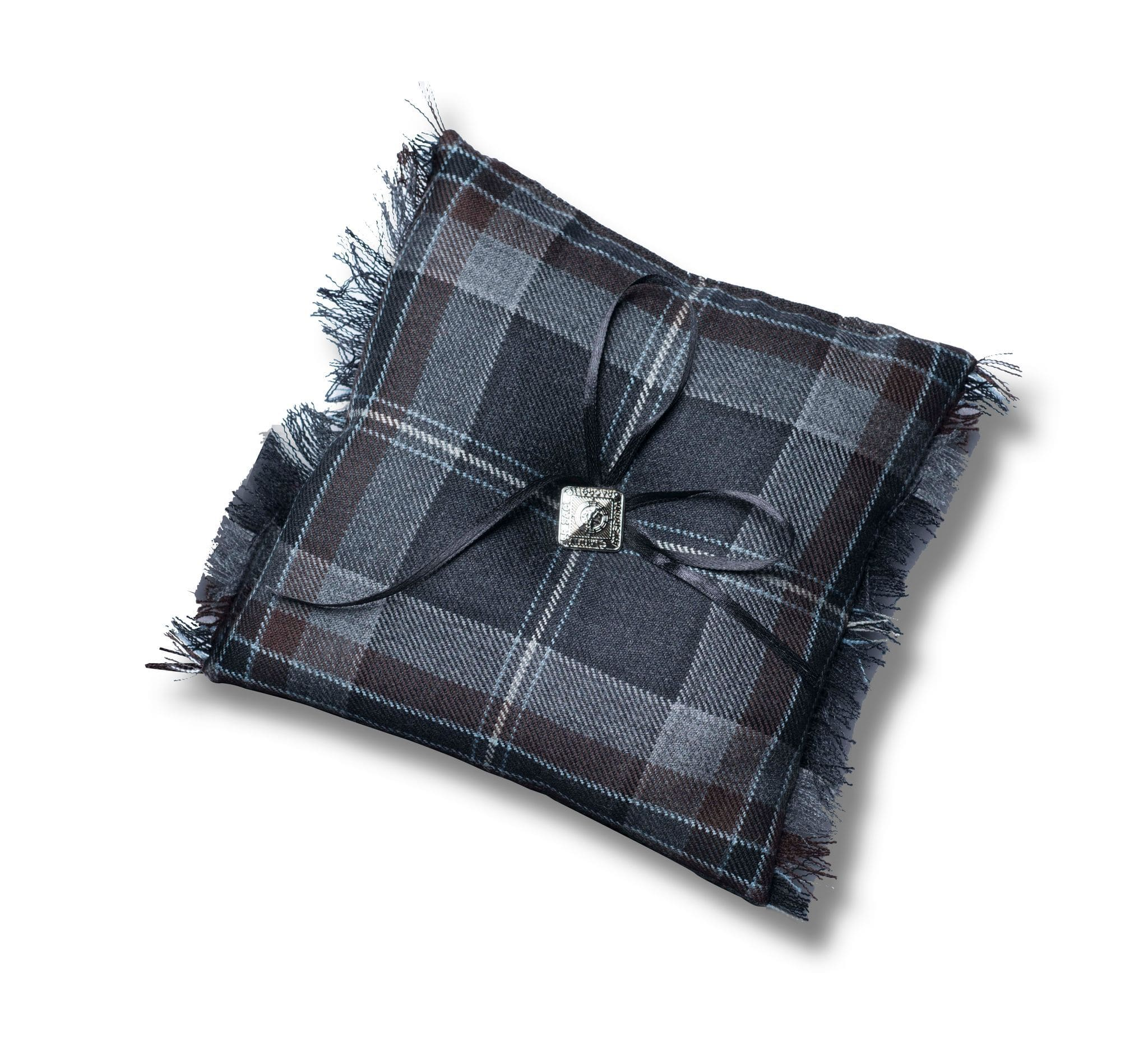 MacGregor MacDuff Tartan Wedding Ring Cushion