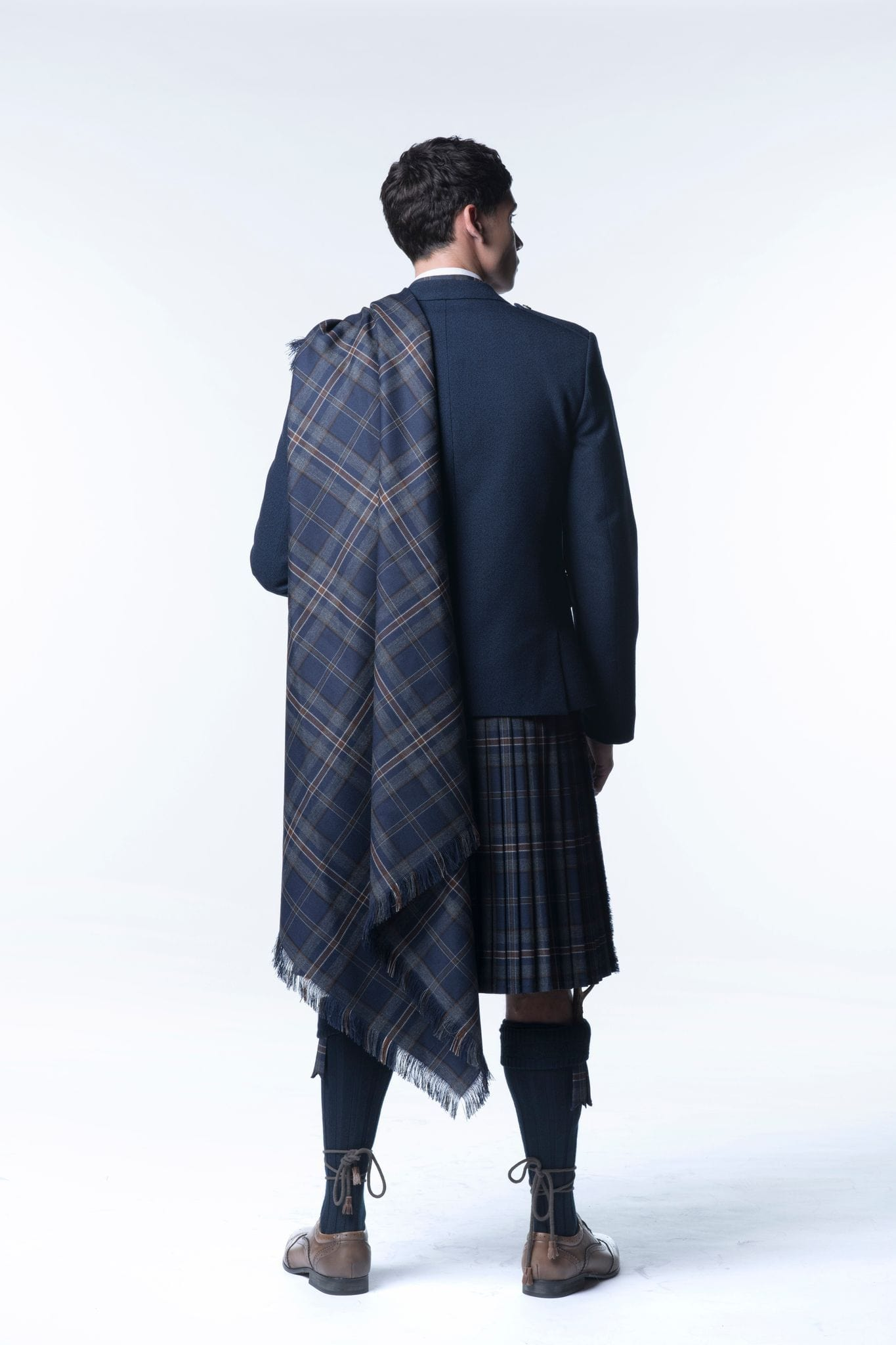 Fly Plaid - Choose Your Tartan - MacGregor and MacDuff