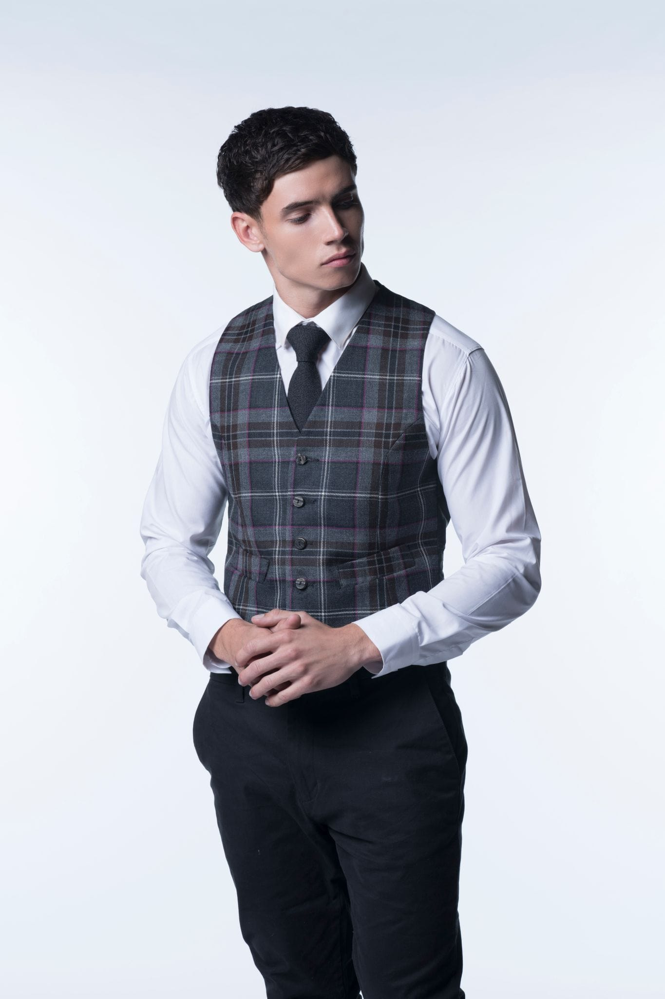 Tartan Waistcoat - Choose Your Tartan - MacGregor and MacDuff