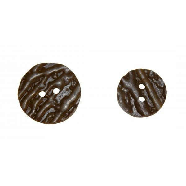 Black or Brown Imitation Bone Buttons - MacGregor and MacDuff