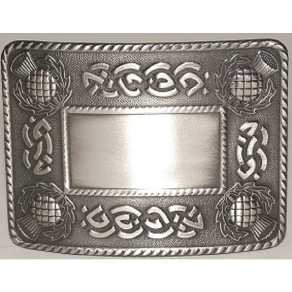 Celtic Thistle Buckle (GMB19 GE) - MacGregor and MacDuff