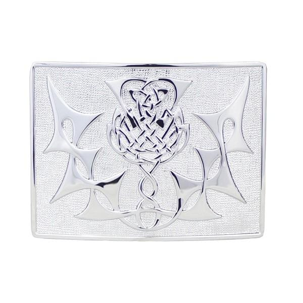 Highland Thistle Buckle (GMB10 GE) - MacGregor and MacDuff