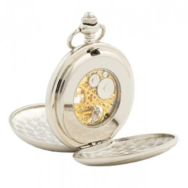 MacGregor MacDuff Cufflinks Stag Pocket Watch and Cufflinks Gift Set (PWS202 CB)