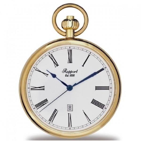 Open Faced Quartz Pocket Watch - MacGregor and MacDuff