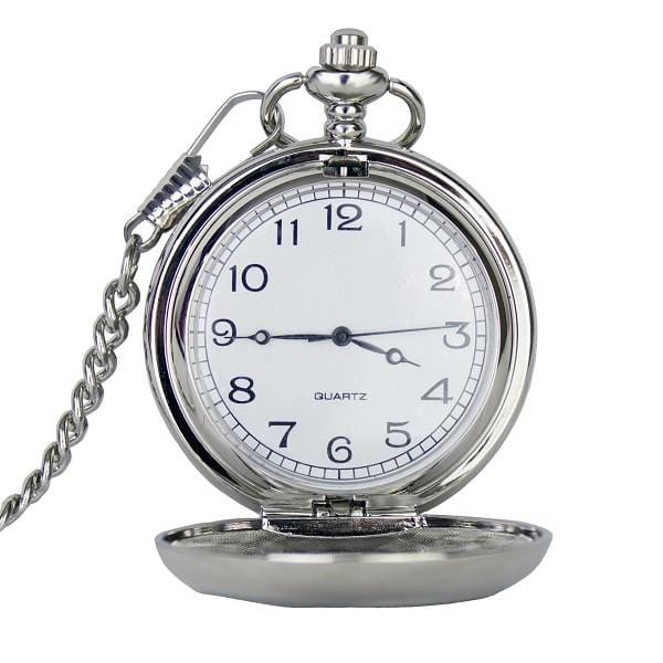 MacGregor MacDuff Pocket Watch Personalised Three Thistle Pocket Watch (PW102 CB)