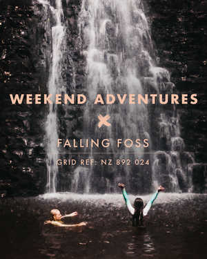 WEEKEND ADVENTURES: Wild swimming in a woodland waterfall