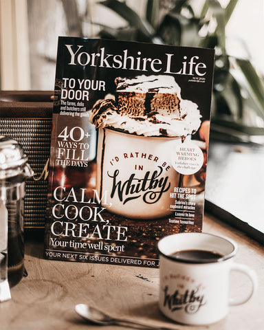 Art Disco on the cover of Yorkshire Life Magazine
