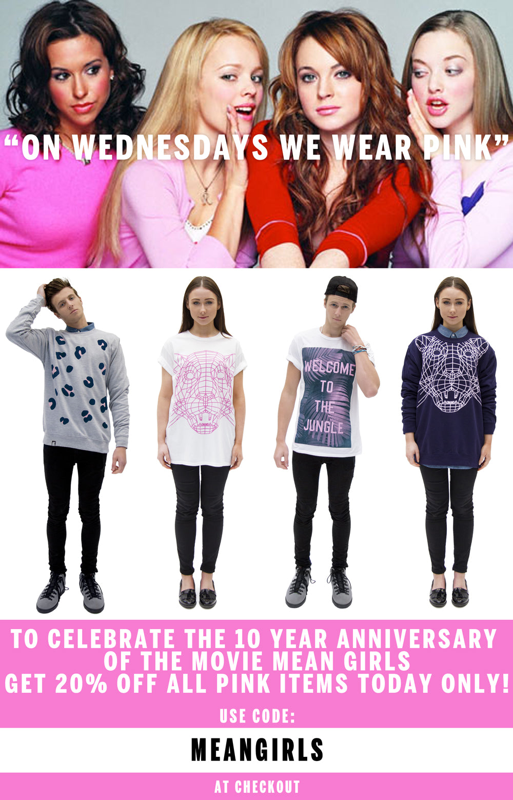 MEAN GIRLS | 20% OFF