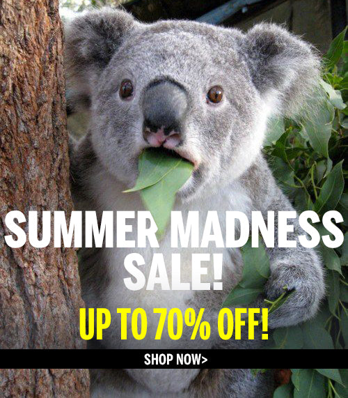 Summer madness sale! up to 70% off