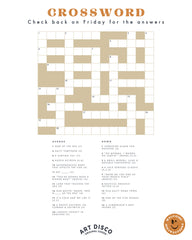 crossword by art disco
