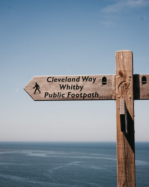 This way along the Cleveland Way